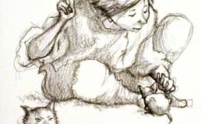 Ragazzo con ratto… e gatto